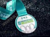 半程马拉松赛事奖牌定制,广东金属活动挂牌制作