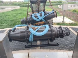 QZB轴流泵-雪橇式潜水轴流泵厂家