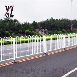 市政护栏街道隔离栅交通栅栏道路护栏
