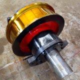 熱銷800單雙邊車輪組 來圖定製起重機車輪組淬火