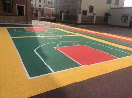 篮球场拼装地板多少钱一平方