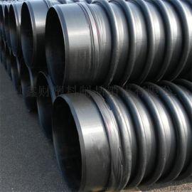 沧州克拉管厂家报价 地埋排水管缠绕结构壁管材