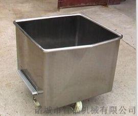 304不锈钢小料斗车 定制小料车  手推料车