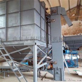 NE板链钢斗粉料输送机qc 不锈钢连续式斗式提升机