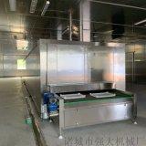 盒裝大蝦隧道式速凍機 大閘蟹氟利昂速凍機