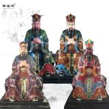 南岳大帝神像 南岳圣帝神像塑像 五岳大帝神像图片