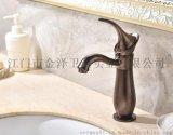 中式仿古龙头 无铅铜水龙头 复古卫浴艺术品 1838T