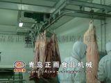 青島正雨供應生豬屠宰設備下降機卸肉機