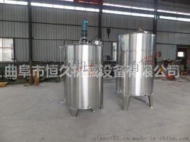 曲阜做罐专业的都是有哪些 不锈钢储存罐哪里做的好 山东 罐曲阜恒久酿 设备生产厂家