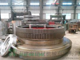174齿16模数Φ2.0米回转式单筒冷却机大齿轮托轮总成