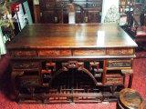 成都古典家具厂家,仿古书柜、书桌定制