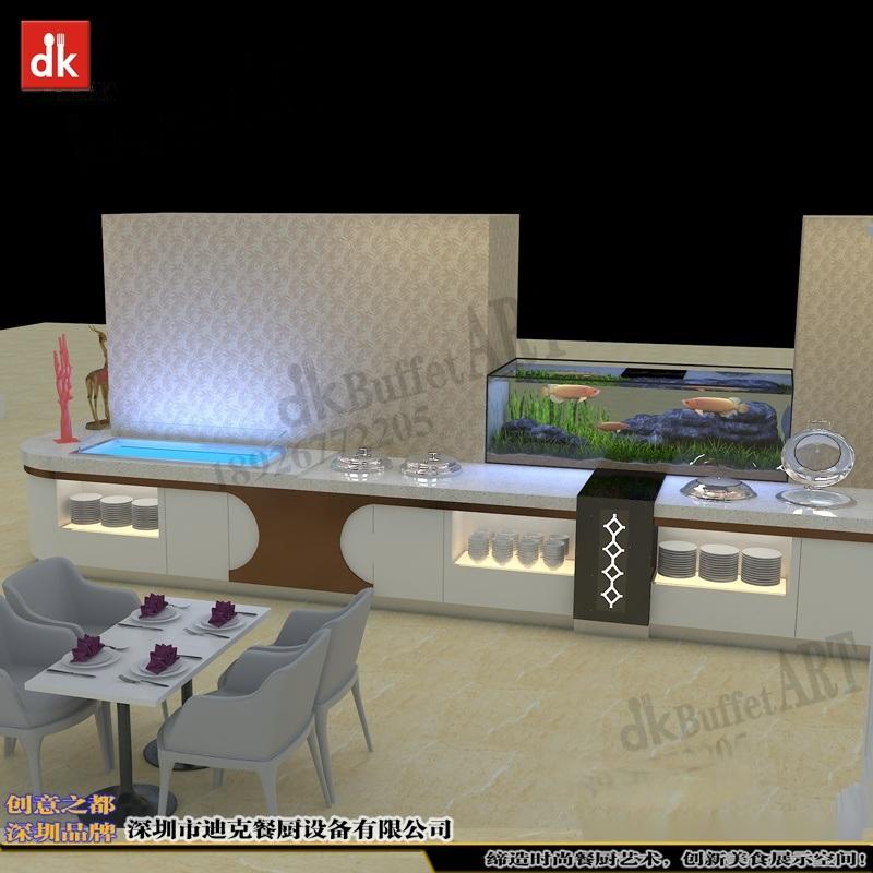 迪克森设计特色餐厅专业定制餐饮家具餐台设备