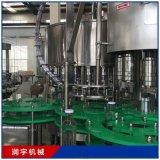全自动小型液体果汁饮料灌装生产线设备