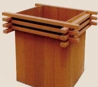 塑膠木花箱HHX-008