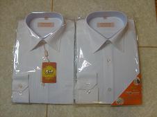 **鳄鱼长袖商务衬衫