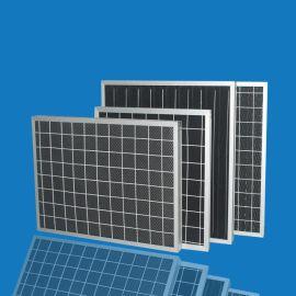 东莞厂家供应初效折叠式活性炭过滤器 活性炭防尘过滤纤维网