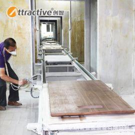 【广东创智】工业喷涂机 自动喷漆房 家具喷漆流水线