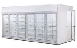 后补式冷冻冷藏展示柜
