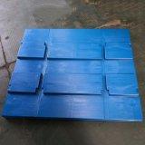 厂家直销 平板玖角塑料托盘  塑胶垫仓板1200*800 塑料防潮板