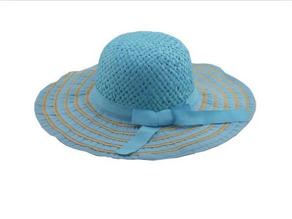 大邊蝴蝶結太陽帽