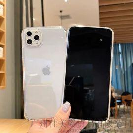 苹果11pro Max手机壳TPU透明素材壳1.5