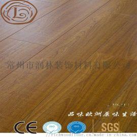 批发耐磨多层复合强化地板