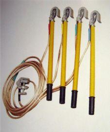 10KV高压接地线/棒电站接地棒配电房接地线夹子25平方铜线
