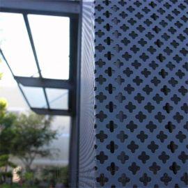 【个性定制】金属幕墙冲孔网 喷塑装饰穿孔板 铝板圆孔网