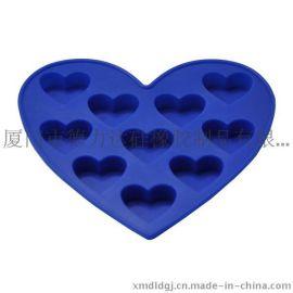 硅胶模具,心型橡胶模