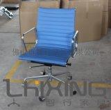 现  公家具 PU皮 Eames 办公椅 伊姆斯电脑椅 可定做牛皮材质