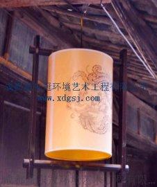 新东冠供应各类艺术灯笼,带有不同地方特色,现场设计施工