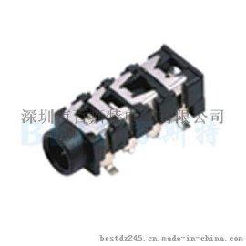 供应3.5耳机插座PJ-313E环保**耐高温