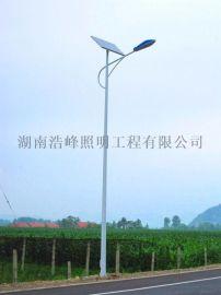 湖北荆州太阳能路灯批发 荆州太阳能LED路灯灯杆厂家