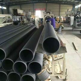 新乡PE双壁波纹管厂家PVC双壁波纹管规格报价大全