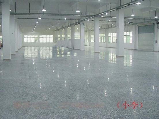 广州市海珠区医院水磨石地面翻新处理-车间水磨石地面无尘处理
