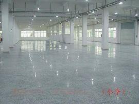 廣州市海珠區醫院水磨石地面翻新處理-車間水磨石地面無塵處理