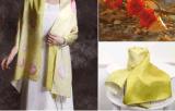 時尚單品韓作雲絲巾
