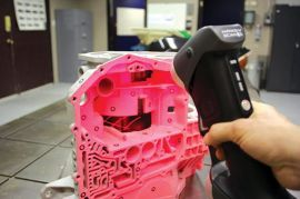 外出扫描汽车服务专用便携式3d扫描仪