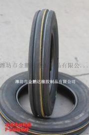 农用拖拉机前轮导向轮胎400-15 4.00-15 F-2双沟花纹