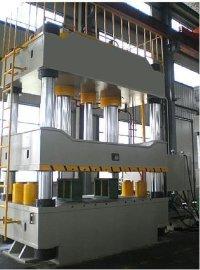 供应济南泽铭高精度500吨三梁四柱液压机