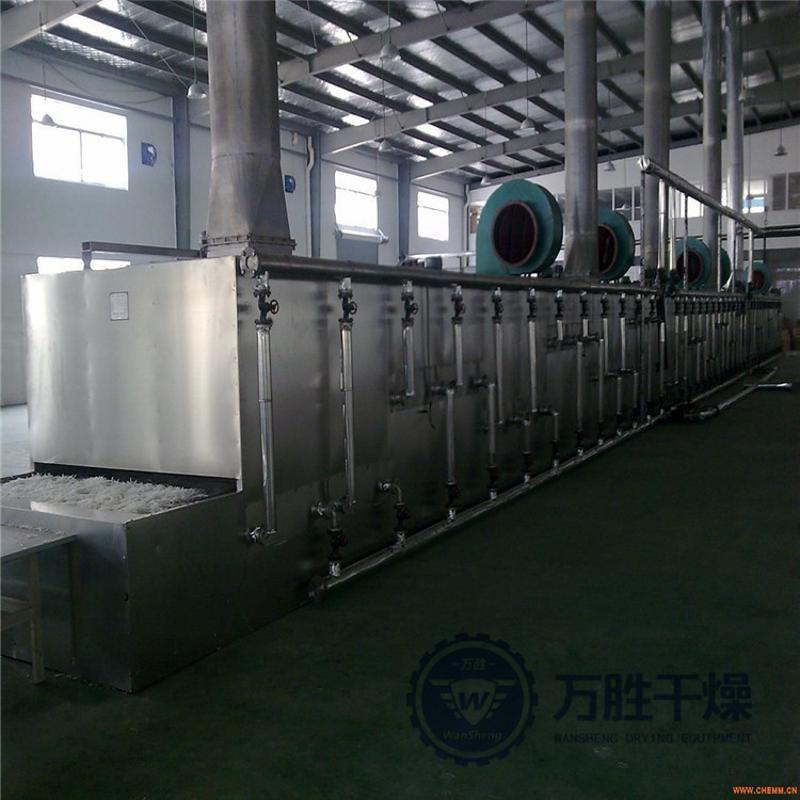 蔬菜脱水烘干机厂家批发 多层食品带式干燥设备网带链条式干燥机