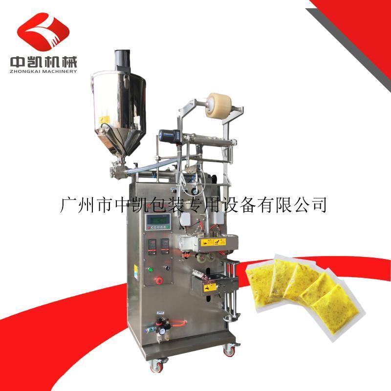厂家供应液体包装机 液体酱汁汤料膏体果酱柚子茶酱自动包装机