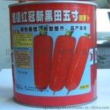 进口胡萝卜种子超级红冠新黑田五寸