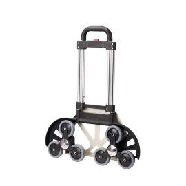 爬楼梯轮买菜车 上下楼可折叠拉杆车 铝合金小拖车载重