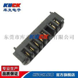 笔记本电池座连接器B07F母座5-10Pin 贴片式SMT 间距2.5PH 防呆带柱