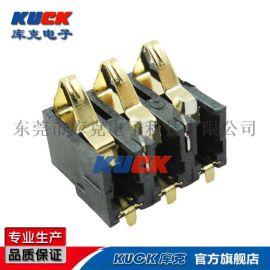 电池座连接器 Bc-4-3P-3.0PH-7.7H外焊无柱3.0间距7.7高