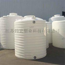 钧宏塑业5000L塑料水塔供应