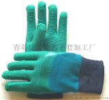 專利型乳膠手套抗割抗劃耐磨防滑