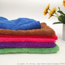 吸水廚房擦手巾30*40cm珊瑚絨去污力強擦手巾