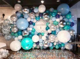 宝宝周年庆新年圣诞节生日狂欢节广告促销气球派对